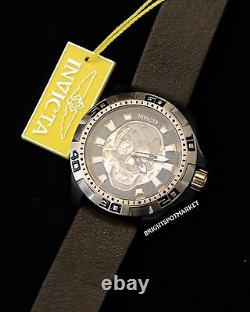 Invicta 25228 Disney Limited Edition Pirates of the Carribean Skull Watch NWT