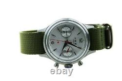 Red Army Flieger PILOT Mechanical Chronograph Mens Aviation Watch seagull1963